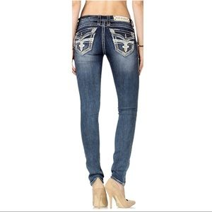 Rock Revival Jen Skinny Jeans Size 26